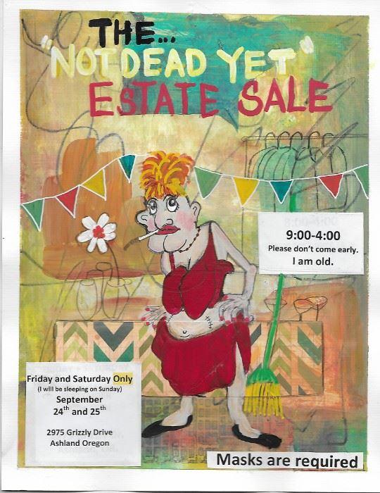 Estate Sale Flyer