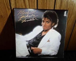 Sealed Michael Jackson Thriller Album