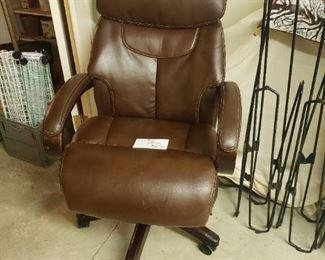 La-Z-Boy leather office chair