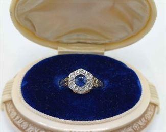 004 14kt Gold Ring