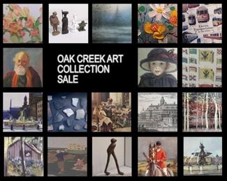 Oak Creek, WI ART Collection Downsizing SALE