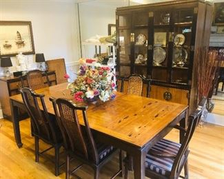 Gorgeous Lane Co. Asian inspired dining room set