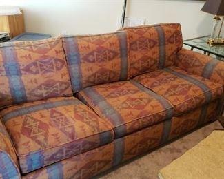 Three cushion sleeper sofa