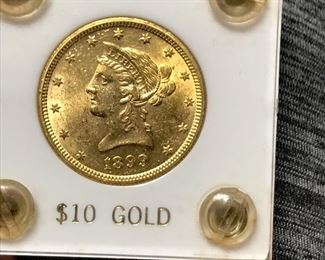 1 of 6 Gold Pieces