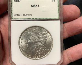 40+ Silver Dollars