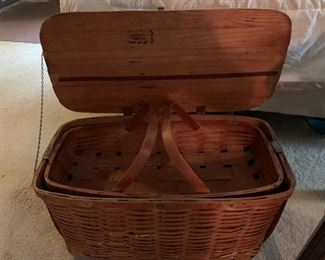 GREAT COLLECTION VINTAGE BASKETS