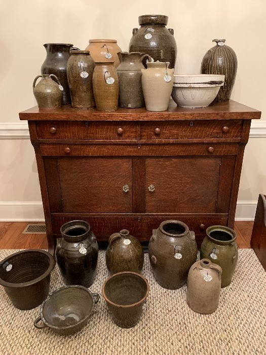 COLLECTION OF CATAWBA POTTERY