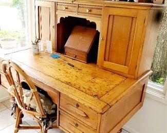 Primitive  desk.