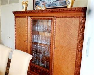 3 door cabinet, large wall cabinet