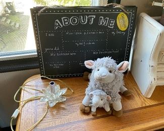 """There are Five or more New """"About Me"""" Chalk Boards"""