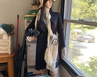 Very Cool Mannequin Clothing and Accessories Sold Separately