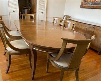 Johnson Handley Johnson Dining Table Set