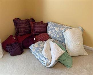 Bedding Options