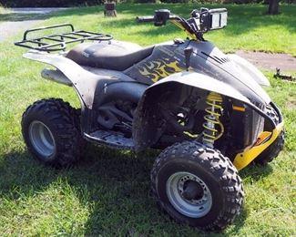2005 Polaris ATV, VIN 4XABG0A052523192, Powers Up