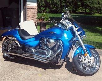 2012 Suzuki M109R VZR1800 Motorcycle, VIN # JS1VY53A8C2100527, Mileage Showing 6,022