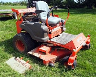 """Bad Boy Z Professional Series Mower, With 60"""" Deck, Hours Showing 5809, Powers Up"""
