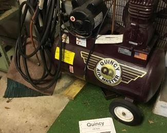3 G004 Quincy 3.5 Hp 20 Gallon Air Compressor