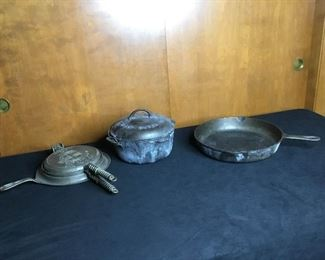 F003 Griswold And Other Cast Iron