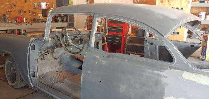 56 Chevy  350 All parts, 8 tires and much more