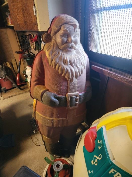 Polk Santa. really dusty. some damage. Yet this is super rare.