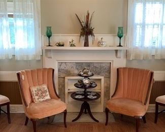 Mauve Colored Accent chairs