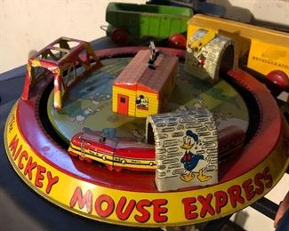 Vintage Mars Mickey Mouse Express