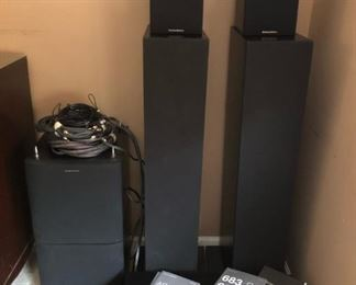 Bowers & Wilkins 7 Speaker Set  Like new used less than 2 years.  Purchased from Best Buy.