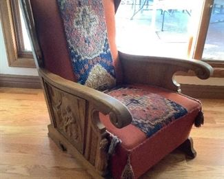 Hand Carved Chair I