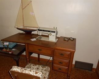 Sears sewing machine works & has many cams