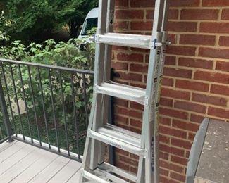 #11DeckWerner Ladder (triangle or extension type ladder)  $ 100.00