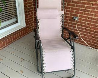 #12DeckZero Gravity Chair $ 60.00