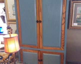 Large Farmhouse Style Cabinet