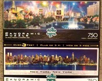 2 Puzzles Buffalo  750 Pieces Each
