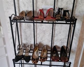Over 50 pairs of new or gently used shoes