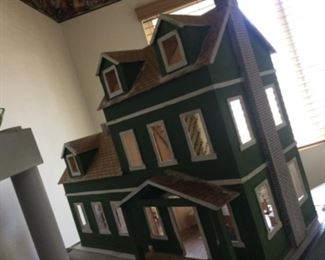 This is not the house we are having the sale in, but this house is in the sale we are having! 36 wide, 24 tall, 16 deep