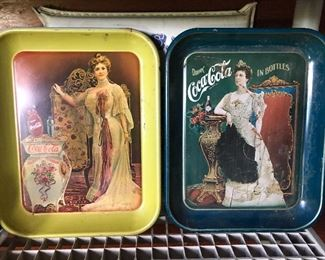 Many Other Coca Cola items, commemorative bottles, wall hangings, wooden crates, etc.
