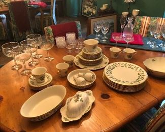 Lenox Dimensions and some Stemware too!