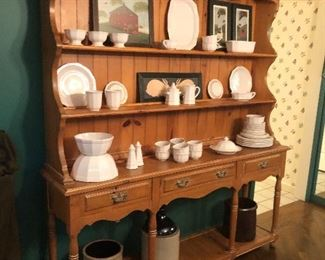 Beautiful Hutch/Server in Dining Room.