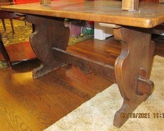 DANISH TRESTLE TABLE