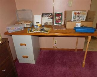 Filing Cabinet with Dresser on top