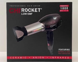 Salon professional Chi Rocket blow dryer and other beauty supplies for sale!   These are not stock photos! These images are of the actual items available for sale.