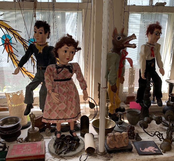 Vintage Marionettes