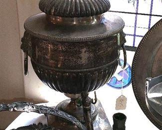 Antique Sheffield Coffee Urn