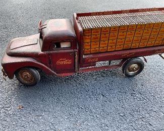 Vintage Coca Cola Truck