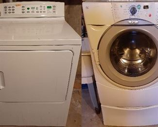 Whirlpool Duet washer, GE Profile dryer