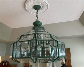 Large Chandelier by F. Raymond