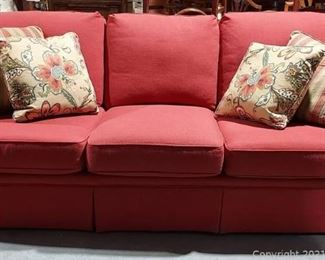 Wesley Hall Dazzling Sofa with Accent Pillows