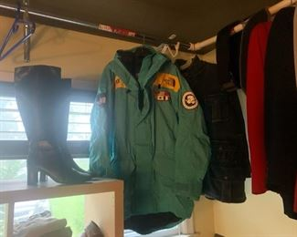 Vintage 1990s north face jacket summit special edition
