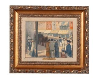 0195:  CLARENCE KERR CHATTERTON (AMERICAN, 1880-1973) Est. $4,000-$7,000