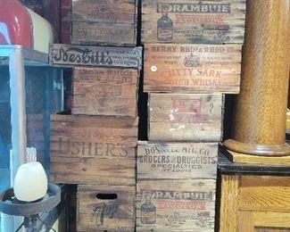 1940s Whiskey Crates